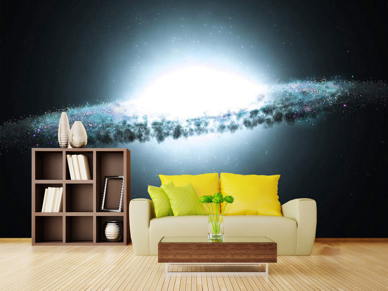 3D Helle planeten drehen 3 Fototapeten Wandbild Fototapete BildTapete Familie DE