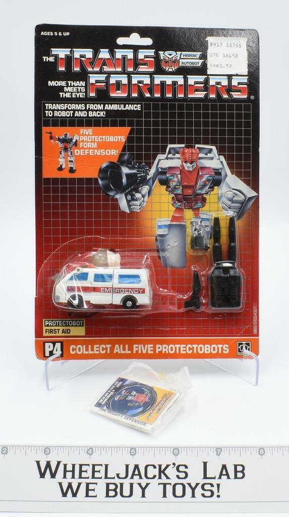 Defensa de de de emergencia W   burbuja niño 1986 G1 Transformers 4cc