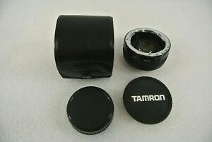 TAMRON-F-Tele-Convertor-2X-KR-MC4-with-Lens-Cap-and-Case