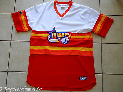 TEAM MICKEY BASEBALL JERSEY SIZE ADULT XL