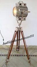 HOLLYWOOD TEATRO CINEMA luce in legno massello Treppiede Riflettore Portatile Lampada