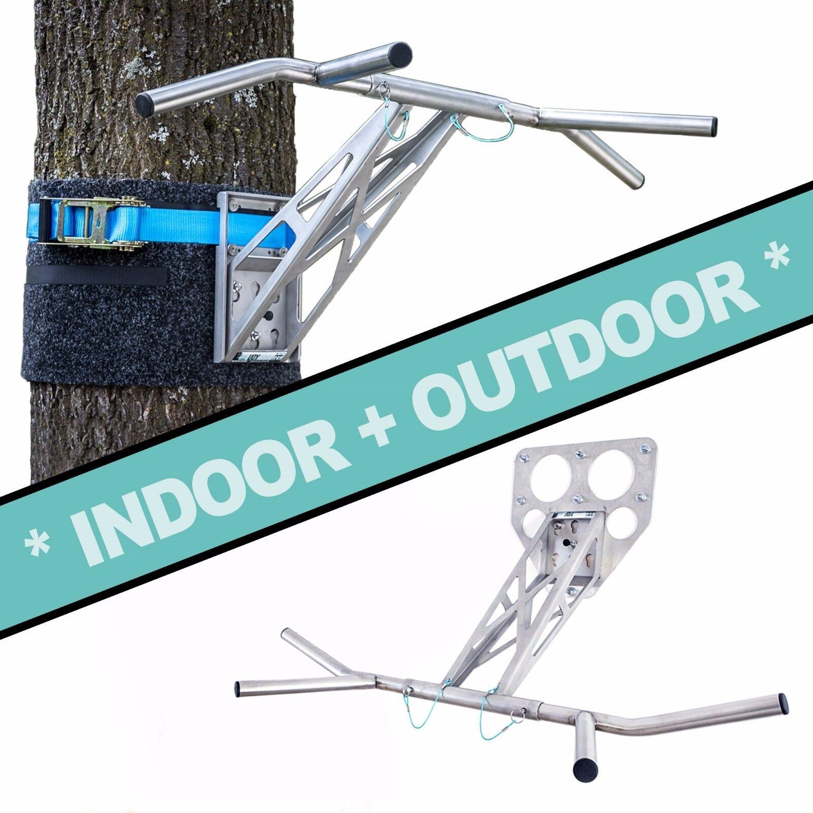 Klimmzugstange Dip Stange Pullup & Dip für zuhause an Wand und outdoor im Garten