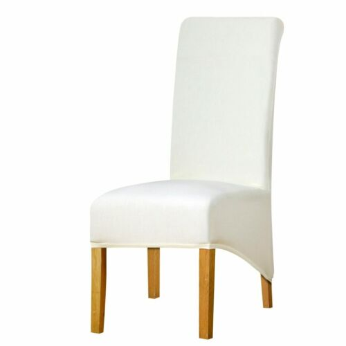 XL Sizes Long Back Room Decoration Chairs Covers Spandex Fabrics Seats Slipcover