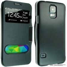 FOR SAMSUNG GALAXY S5 I9600 LEATHER CASE COVER WALLET FLIP BACK POUCH G900F