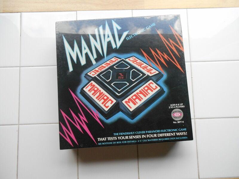 Oldtimer - ideale irrer elektronischen spiel 1979 fabrik versiegelt.