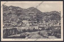 BERGAMO SAN PELLEGRINO TERME 85 Cartolina viaggiata 1943