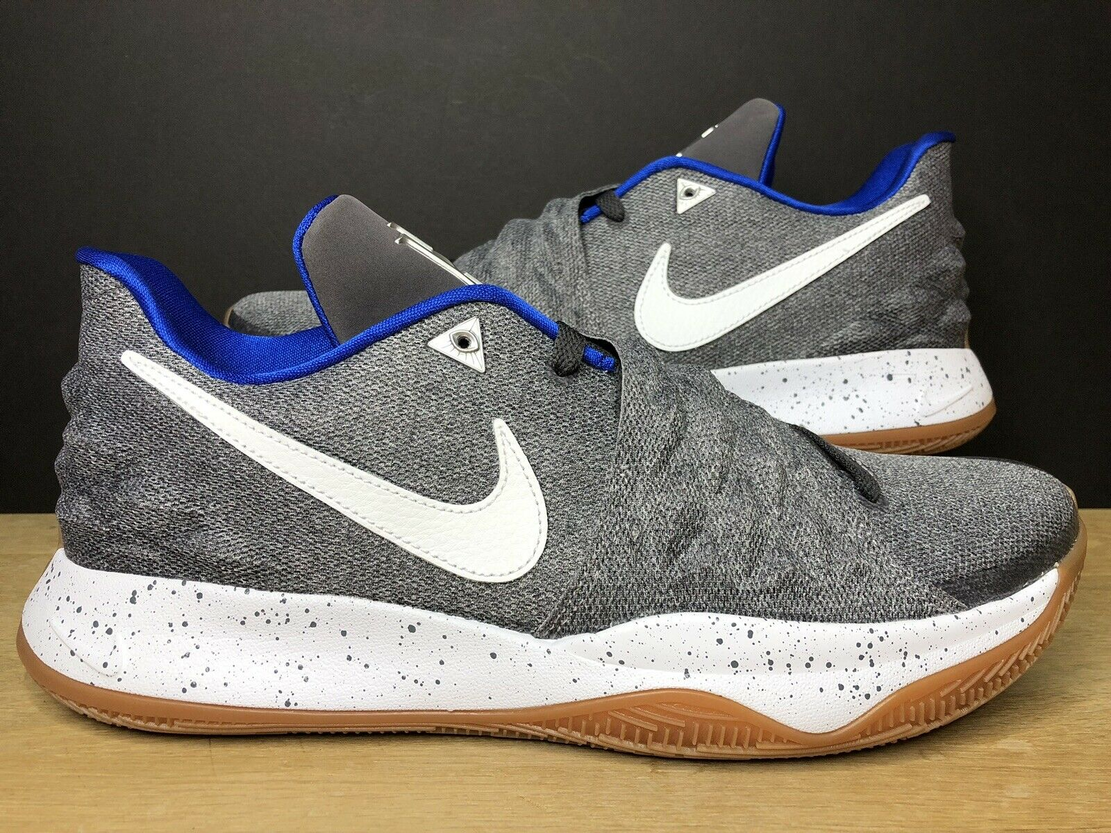 Nike Kyrie 4 Low Uncle Drew Atmosphere Grey Gum Irvin AO8979-005 Size 13
