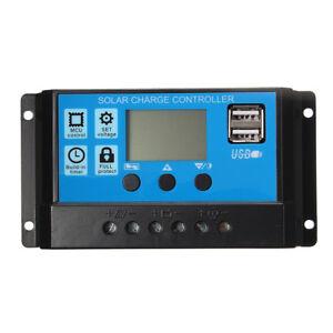 10-20-30A-USB-Solar-Panel-Battery-Regulator-Charge-Intelligent-Controller-12-24V
