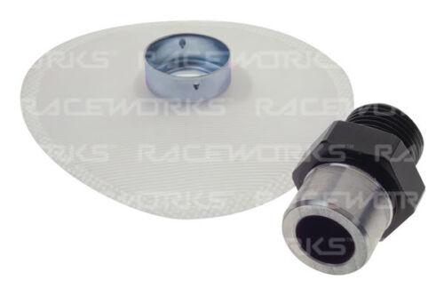 RACEWORKS METRIC MALE M18X1.5 TO STRAINER BOSCH 044 FSA-094