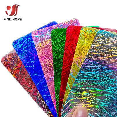 Colors Glitter Hologram Heat Transfer Vinyl PET Iron-on Heat Press T-shirt Film