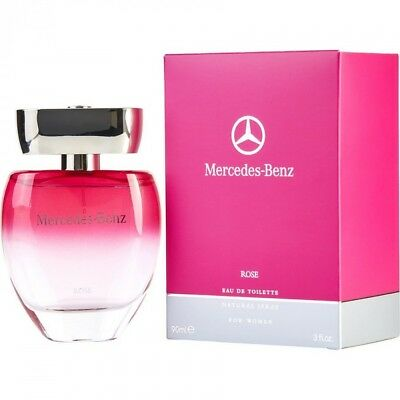 MERCEDES BENZ ROSE FOR WOMEN EDT SPRAY 3.0 OZ 90 ML AUTHENTIC MADE IN FRANCE 3595471031020 | eBay