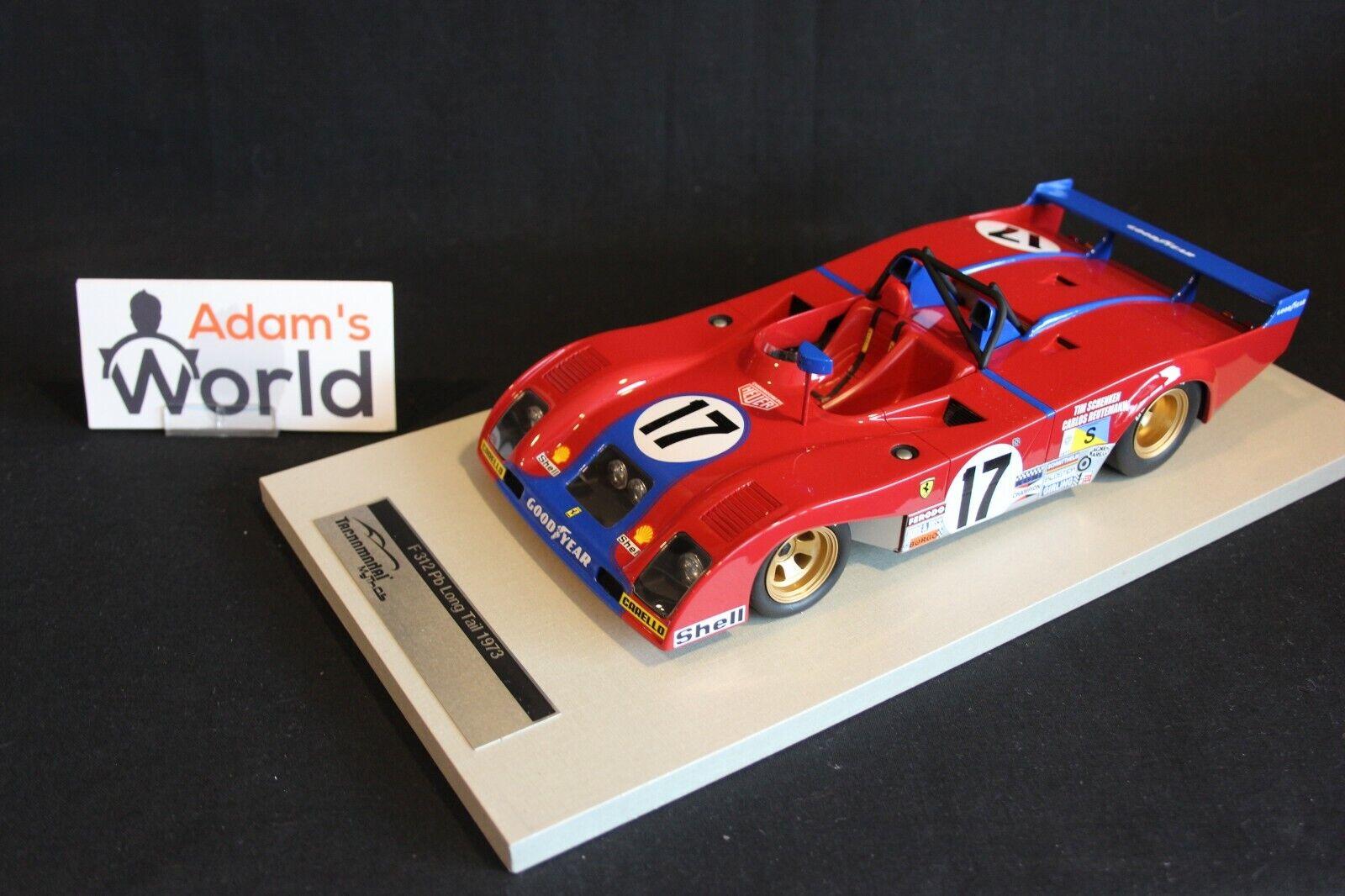 Tecnomodel Ferrari 312 PB LT 1 18 18 18 Schenken   Reutemann 24h LM 1973 (PJBB) 6207a8