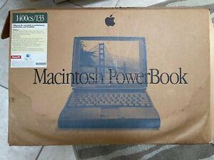 Vintage Apple PowerBook 1400cs/133 COMPLETE w/ CD, floppy, box, power adapter