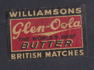 Ancienne étiquette allumettes Royaume Uni Tigre