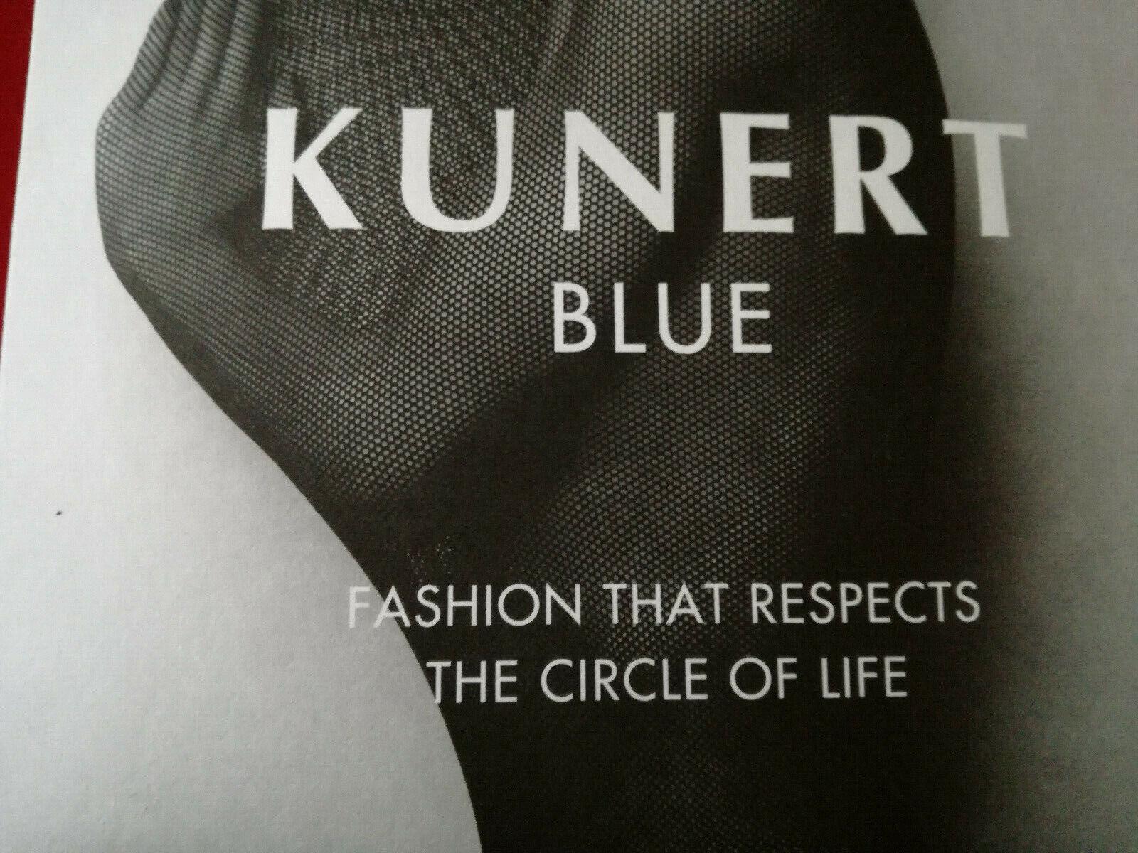 Strumpfhose, Kunert, BLUE,30DEN48-50, schwarz, OVP,NET, NP:28,00,Figurstützend.