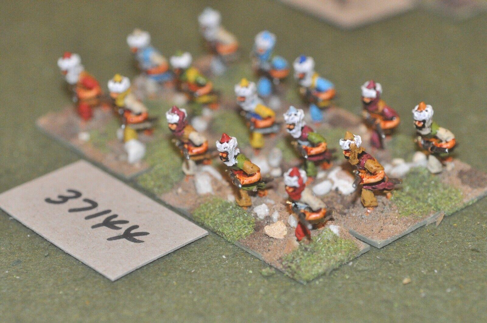 25mm Renacimiento Turco-arcabuceros 15 figuras-INF (37144)