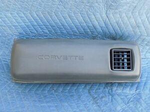 Bread-Box-Crash-Pad-RH-Passenger-Dash-Panel-OEM-1989-C4-Corvette