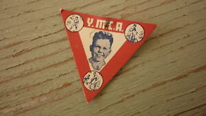 OLD-AUSTRALIAN-FUNDS-APPEAL-BADGE-1940s-YMCA-SPORTS