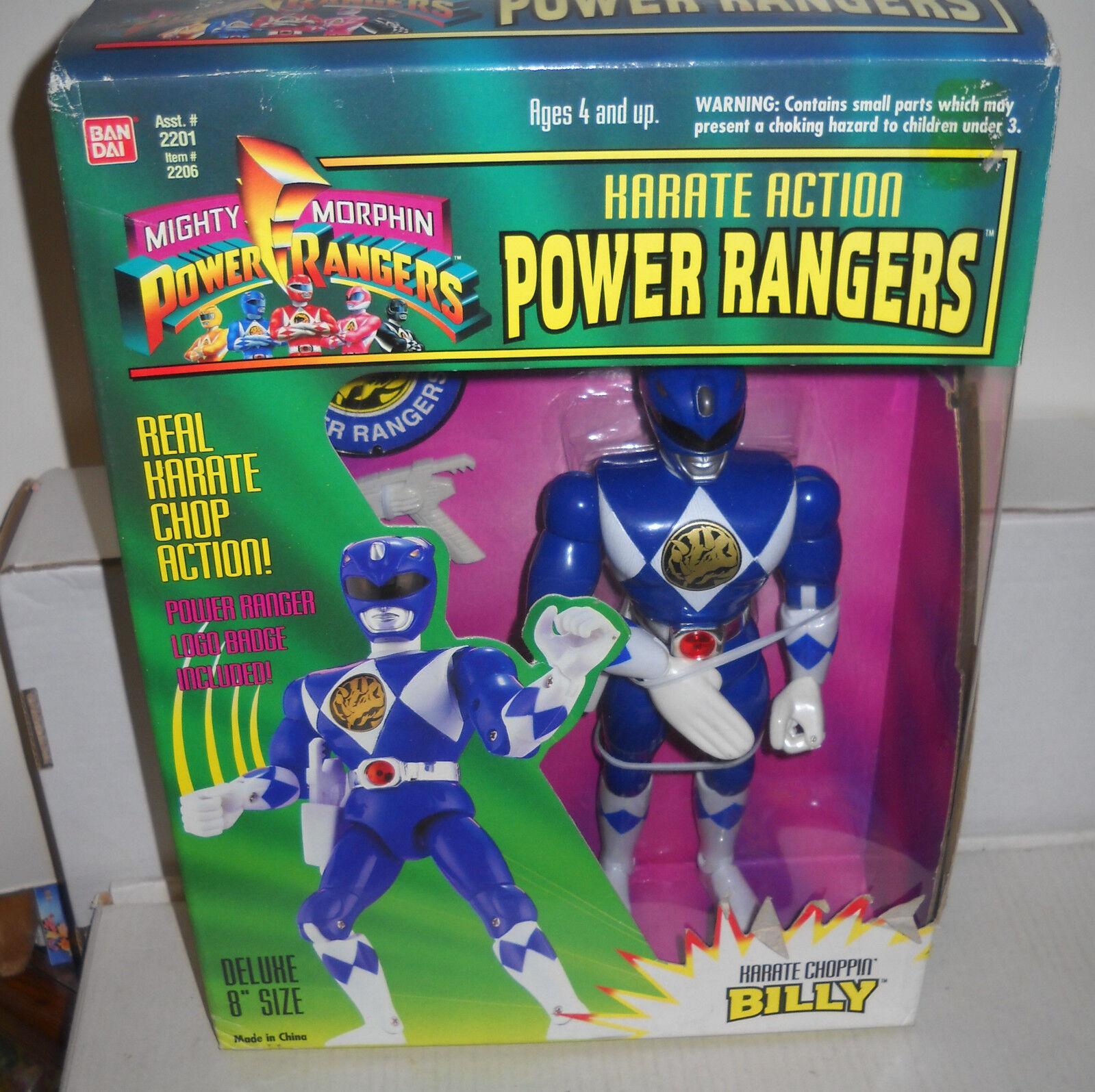 7760 nrfb verbot dai mächtige morphin power rangers karate aktion blaue ranger billy