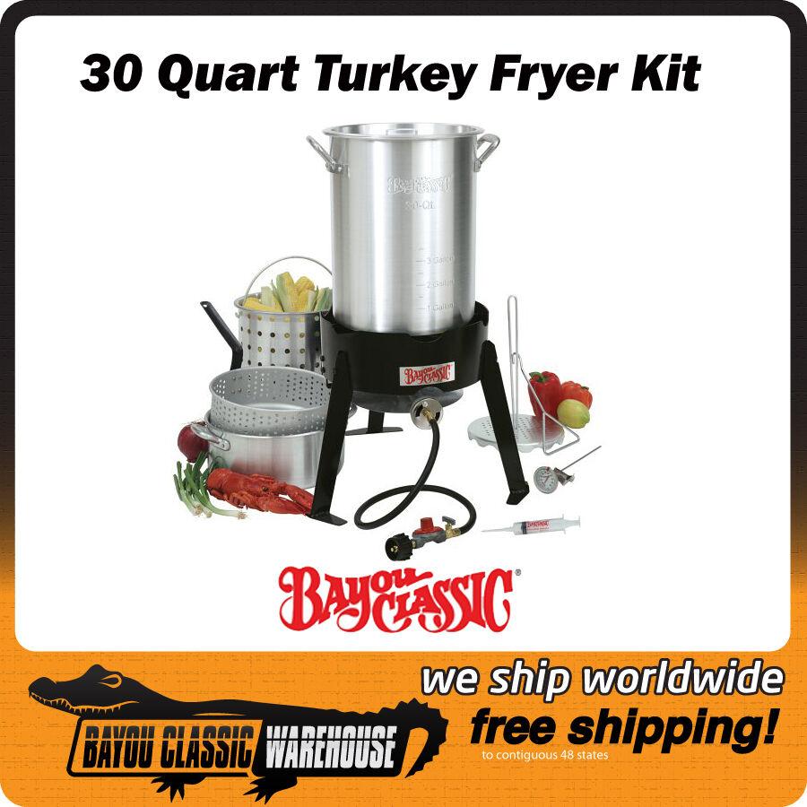 Outdoor Propane LPG Aluminum Turkey Deep Fryer Complete Kit  Top of the Line  high discount