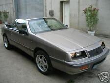 Chrysler Le Baron Cabrio Verdeck defekt? Flick Set Reparatur Rep Set Repair Set-