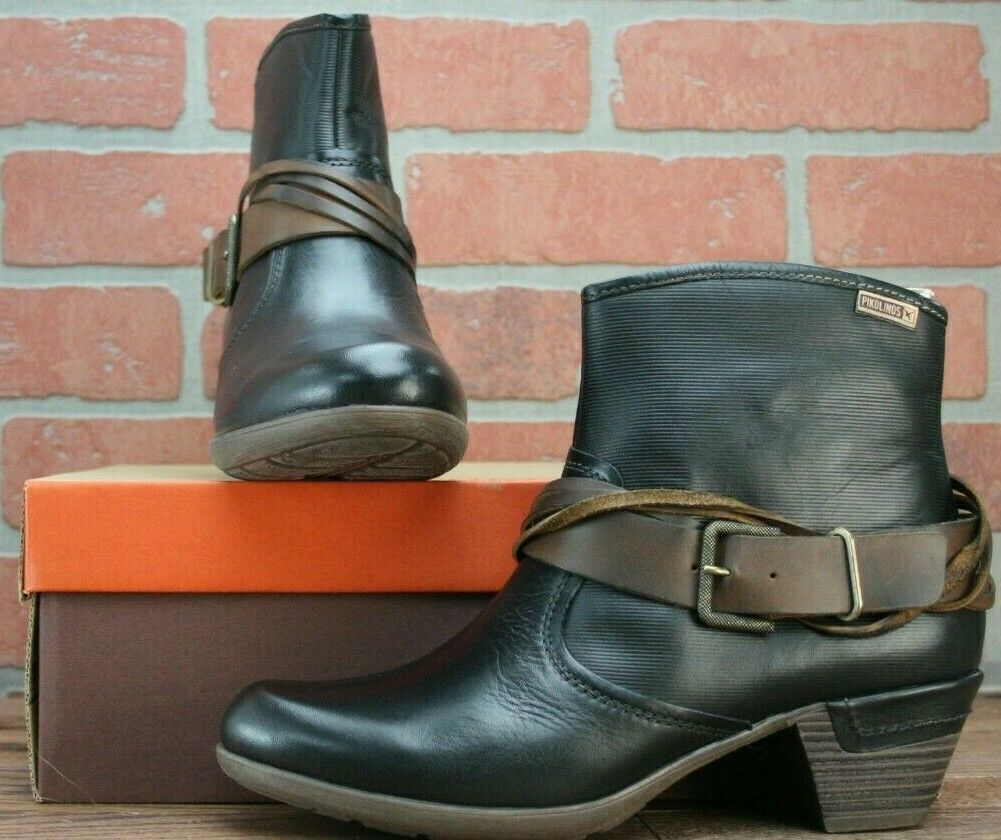 Womens Leather Ankle BOOTS 8.5