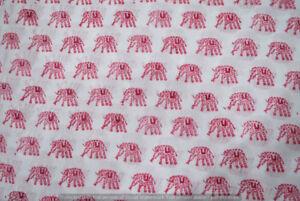 50-Yard-Indian-Hand-Block-Print-Pure-Cotton-Fabric-Sanganeri-Running-Fabric-yard