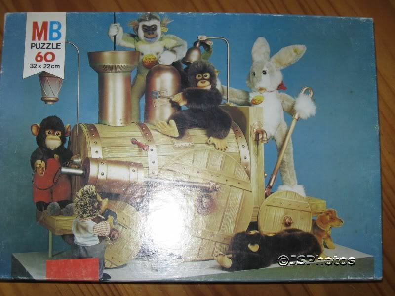 Steiff Old Jigsaw Puzzle 1975 MB Holland 625 3494 15