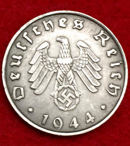 Rarest-Old-WWII-German-War-10-Cent-Coin-Military-Army-Collection-Army-1944-D-Day