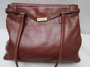 Main Vintage Bag Authentique Cuir À Sac Tbeg Lancaster 0qqE7w