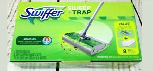 Swiffer Sweeping Kit Sweep Trap Dirt Dust Includes 8