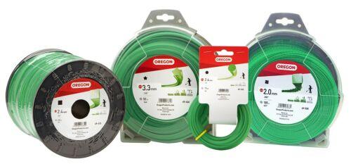 "SPOOL GREEN ROUND String Trimmer Line .105/"" Gauge 1142 FEET Oregon  69-384 5lb"