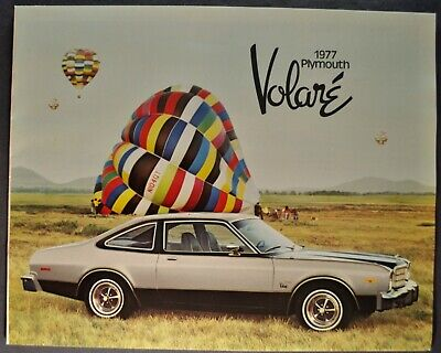 1979 Plymouth Volare and Road Runner Original Sales Brochure Catalog
