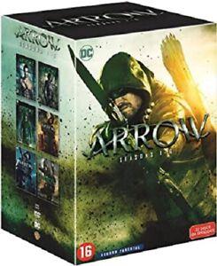 COFFRET DVD SERIE FANTASTIQUE ACTION : ARROW - SAISONS 1 A 6 - DC COMICS