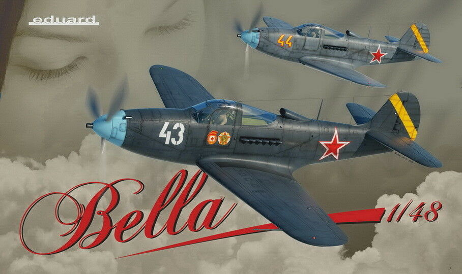 Eduard Models 1 48 WWII Soviet Fighter P-39 Airacobra [Limited Edition]