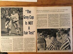 1958-CFL-CANADIAN-FOOTBALL-LEAGUE-ARTICLE-PHOTOS-GREY-CUP-IS-NOT-A-FAIR-TEST