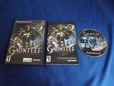 GAUNTLET: SEVEN SORROWS Playstation 2 game COMPLETE! Tested & Works
