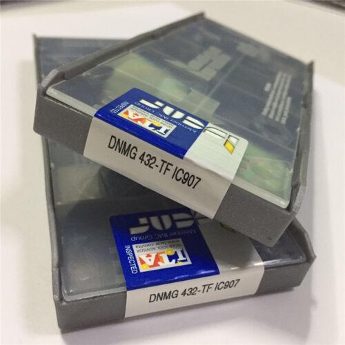 10pcs//pack   ISCARDNMG 432-TF  IC907 DNMG 150408-TF IC907 Carbird Inserts