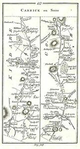 Antique-map-Road-from-Dublin-to-Cork-2