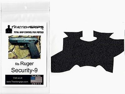 Tractiongrips rubber grip tape overlay for Ruger Security-9 / Security 9  grips 722698955225   eBay