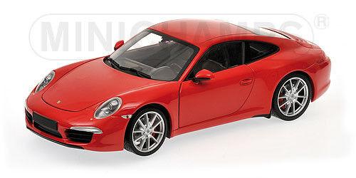 1 18 Minichamps PORSCHE CARRERA S (991) 2011 RED - 100061020