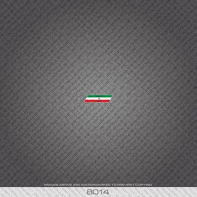 Italian - Fatta In Italia- Bicicletta Telaio A Tubo Trasferelli Adesivi Stickers