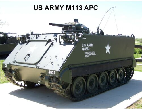 Refrigerator Magnet US Army M113 Amored Personel Carrier Tool Box