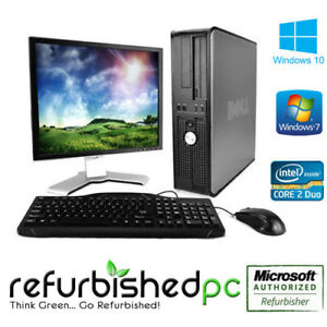 Details about CLEARANCE! Fast Dell Optiplex Desktop PC Windows 7 / 10  Computer Keyboard Mouse