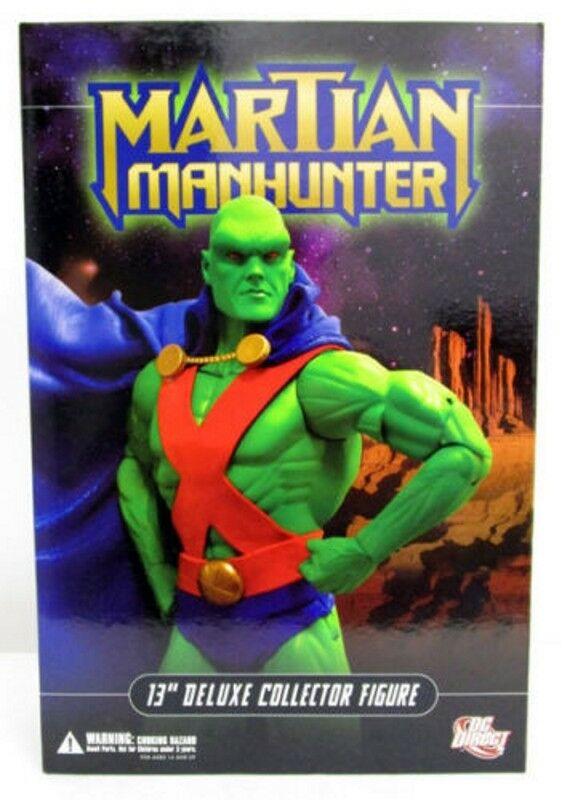 DC Direct 13  Deluxe Collector Edition Martian Manhunter Justice League 1 6 MISB