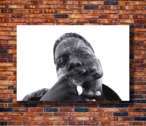 14x21 24x36 Art Gift X-2089 New Notorious BIG Biggie Smalls Smoking Poster
