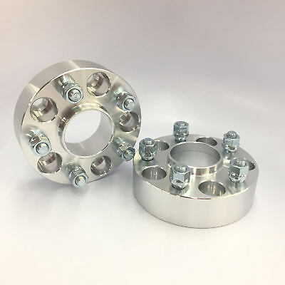 """2 HUBCENTRIC WHEEL SPACERS ADAPTERS 5x100 to 5x4.5/"""" 20MM THICK 57.1CB to 60.1HUB"""