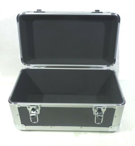 """holds 200 plus 7/"""" 45rpm 7/"""" Vinyl Record Single Compartment Euro Style Case"""