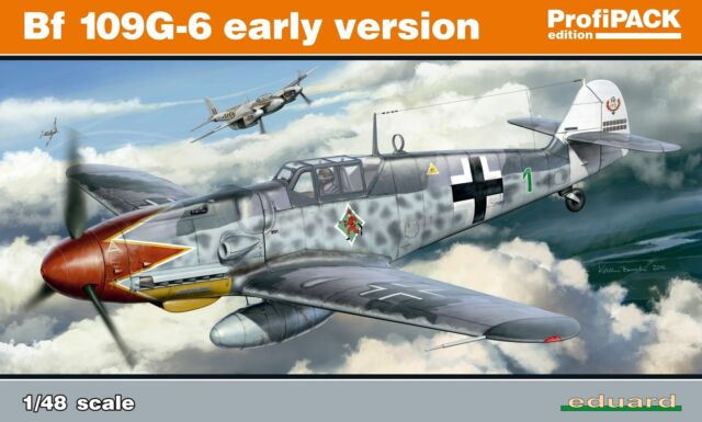 Eduard Plastic Kits 82113 - 1:48 Bf 109G-6 Early Version Professional Pack - New