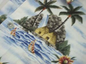 Campia-Moda-Hawaiian-Camp-Shirt-Medium-Beach-Island
